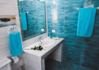 BLUE-UPSTAIRS BATHROOM 1
