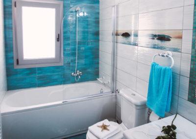 BLUE-UPSTAIRS BATHROOM 1A